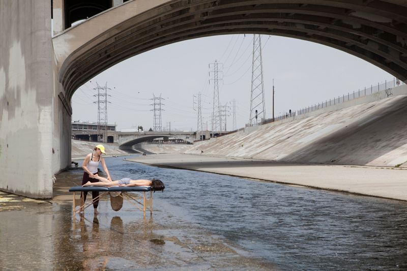 LA River Message